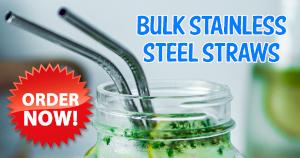 Bulk Stainless Steel Straws Australia